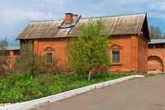 Dom duchowieństwa w zaraysky Kremlin zdjęcie royalty free