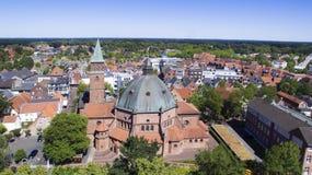 Dom en Nordhorn Foto de archivo libre de regalías
