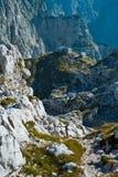 Dom för ikov för Poganï ¿ ½ I färga i Julian Alps Arkivbilder