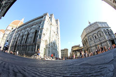 Dom of Florence in Tuscany, Italy Royalty Free Stock Photo