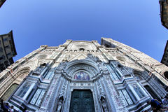 Dom of Florence in Tuscany, Italy Stock Images