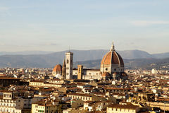 Dom of Florence in Tuscany, Italy Stock Image