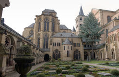 Dom garden. Garden of the Dom in Trier, Germany Stock Photo