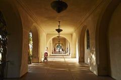 Dom gościnność korytarz, balboa park, San Diego obraz stock