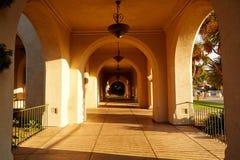 Dom gościnność korytarz, balboa park, San Diego zdjęcia stock