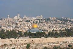 dom guld- jerusalem Royaltyfri Fotografi