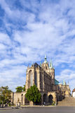 Dom hill of Erfurt Germany Royalty Free Stock Photography