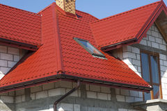 Dom i dach Obraz Stock
