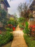 Dom i ogród Zdjęcie Stock