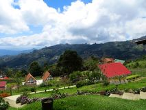 Dom i ogród, Colonia Tovar Wenezuela Fotografia Royalty Free