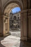 Dom Joao III Cloister in the Templar Convent of Christ in Tomar Stock Images