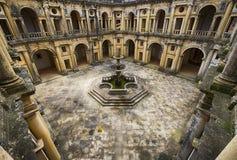 Dom Joao III Przyklasztorny w templariusza klasztorze Chrystus w Tomar fotografia stock