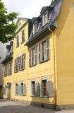 Dom Johann Samochód dostawczy Schiller w Weimar (Unesco) Zdjęcia Royalty Free