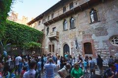 Dom Juliet, Verona Fotografia Stock