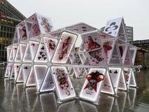Dom karty w Berlin Fotografia Royalty Free