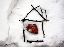 Dom kije Zdjęcie Stock