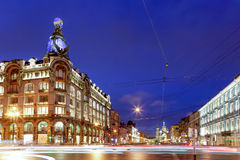 Dom Knigi Saint Petersburg. St. Petersburg's largest and most famous bookshop, Dom Knigi (House of the Book) occupies one of the most beautiful buildings on Royalty Free Stock Image