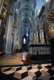 The Dom in Koeln. Interior of the famous Dom in Koeln Royalty Free Stock Image