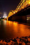 Dom of Koln, Germany. Dom of Koln and Rhine River, Germany Royalty Free Stock Images