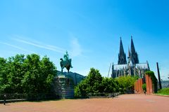 Dom of Koln. The Dom of Koln in Germany Stock Images
