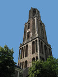 Dom-Kontrollturm von Utrecht stockfotografie