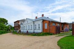 Dom książe Shehonskie XVIII wiek w Zarechenskaya normie Obrazy Stock