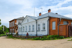Dom książe Shehonskih, Kalyazin, Rosja Fotografia Royalty Free