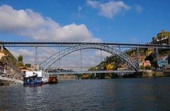 Dom Louis bridge Stock Photo