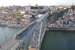 Dom Luís Bridge, Porto Stock Photo