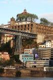 Dom LuÃs I brug, Porto, Portugal Stock Afbeelding