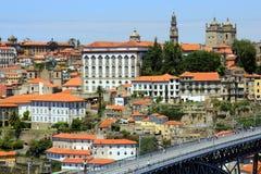 Dom Luís Bridge em Porto, Portugal Imagens de Stock Royalty Free