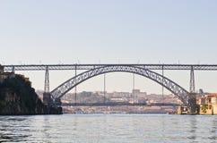 The Dom Luís I Bridge, Porto, Portugal Royalty Free Stock Photo