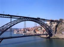 Dom Luis 1 Brücke Lizenzfreies Stockfoto