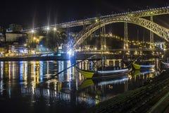 Dom Luis bridge Stock Images