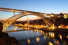 Dom Luis bridge Royalty Free Stock Photo
