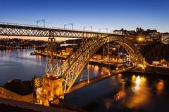The Dom Luis Bridge Royalty Free Stock Image