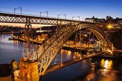 The Dom Luis Bridge Stock Image