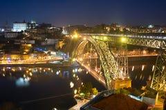 Dom Luis bridge, Portgual Royalty Free Stock Photo