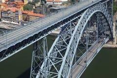Dom Luis Bridge in Porto Stock Photography