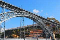 Dom Luis Bridge, Porto, Portugal Stockfotos