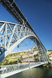 Dom luis bridge porto portugal Royalty Free Stock Photos