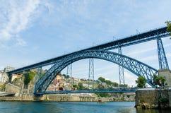 The dom luis bridge in porto, portugal Stock Photo