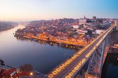 Dom Luis Bridge, Porto Royalty Free Stock Photos
