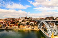 Dom Luis I bridge Royalty Free Stock Images