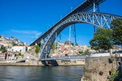 The Dom Luis I Bridge Royalty Free Stock Image