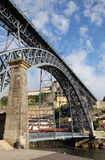 Dom Luis I bridge in Oporto Royalty Free Stock Photo
