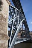 Dom Luis I Bridge in Oporto Royalty Free Stock Photo
