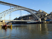 Dom Luis I Bridge, Porto Stock Image