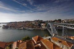 Dom Luis I Bridge in Porto, Portugal Stock Image