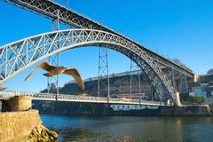 Dom Luis I Bridge, Portugal Stock Photography